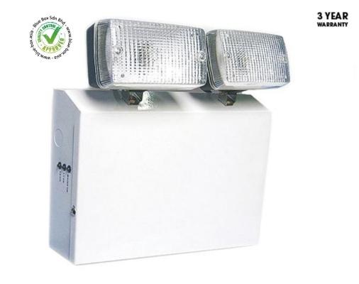 Halogen Emergency Lighting Twin Spot 2 x 20 W  795-9760