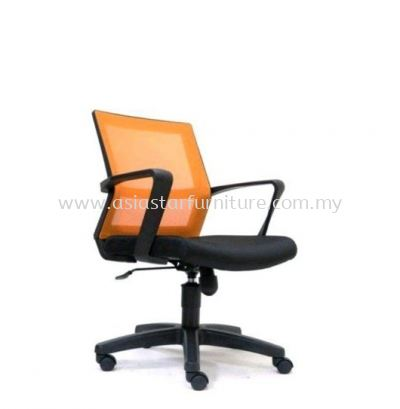 BRIGHTON LOW BACK MESH CHAIR WITH PP BASE ASE 2732