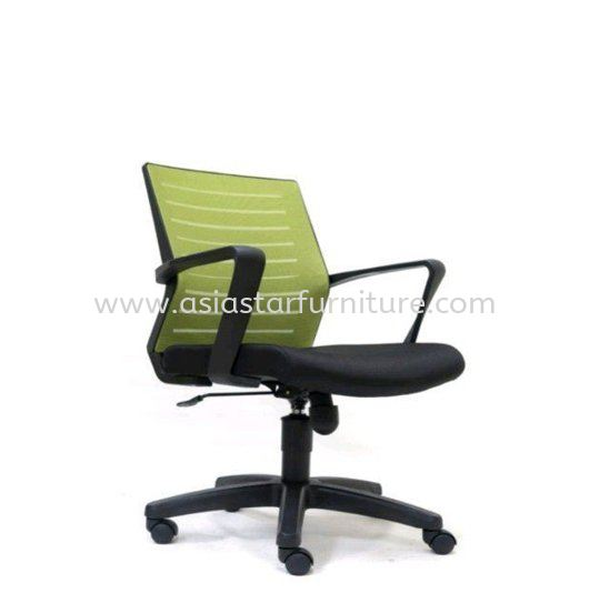 BURNLEY LOW BACK MESH OFFICE CHAIR WITH PP BASE-mesh office chair bandar puchong jaya   mesh office chair bandar kinrara   mesh office chair bandar sri permaisuri