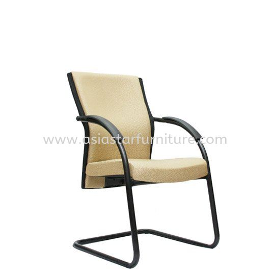 CHECKERS VISITOR CHAIR WITH EPOXY BLACK CANTILEVER BASE ACL 04
