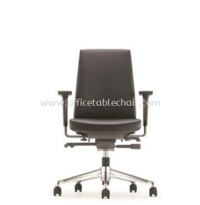 CLOVER EXECUTIVE LOW BACK CHAIR WITH ALUMINIUM DIE-CAST BASE ACV 6112L