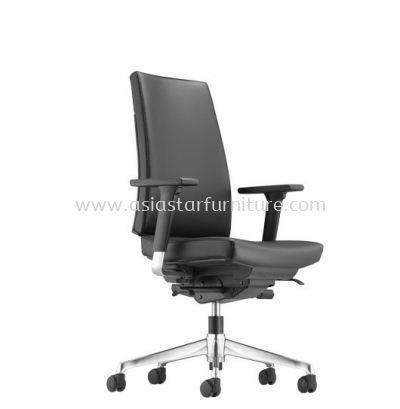 CLOVER MEDIUM BACK CHAIR WITH ALUMINIUM BASE ACV 6111L
