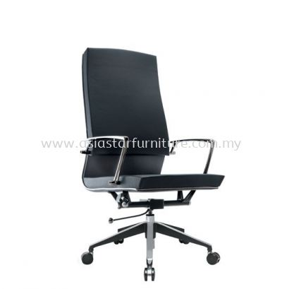 COLONNI HIGH BACK CHAIR WITH CHROME TRIMMING LINE ACL 8811
