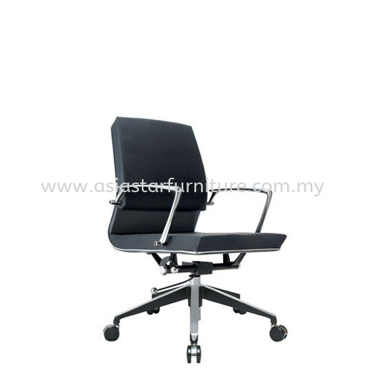 COLONNI LOW BACK CHAIR WITH CHROME TRIMMING LINE ACL 8833