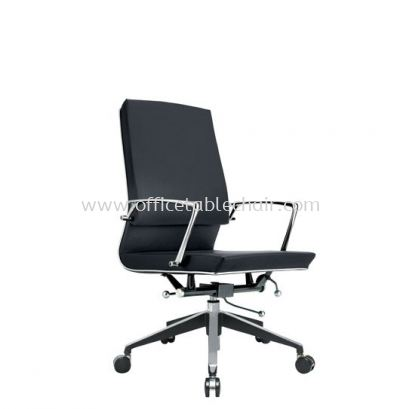 COLONNI EXECUTIVE MEDIUM BACK CHAIR WITH CHROME TRIMMING LINE ACL 8822