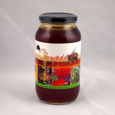 Australia Organic Eucalyptus Raw Honey