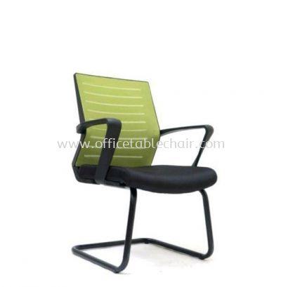 BURNLEY VISITOR MESH BACK CHAIR C/W EPOXY BLACK CANTILEVER BASE ASE 2737