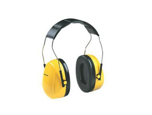 3M PELTOR OPTIME 98 H9A OVER-THE-HEAD YELLOW EARMUFF