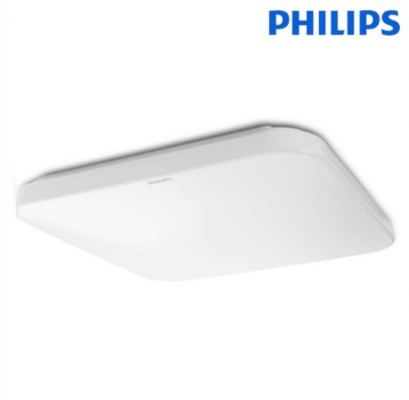 PHILIPS 31110 16W 1100LM LED CEILING (MOIRE) SQURE WARM WHITE 3000K