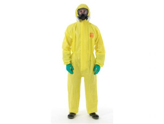 Microchem 3000-111 Coverall Yellow. Large.