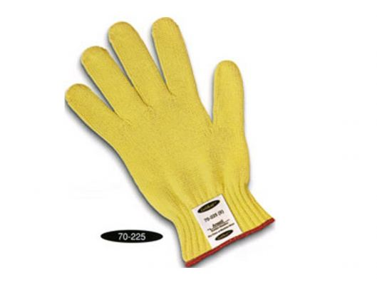 ANSELL 70-225 Goldknit Kevlar Cut-Riesistant Glove. Size 9