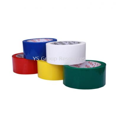Color Adhesive Opp Tape