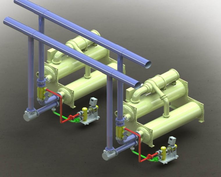 YK Automatic Condenser Tube Cleaning System YK Automatic Condenser Tube Cleaning System Energy Efficiency