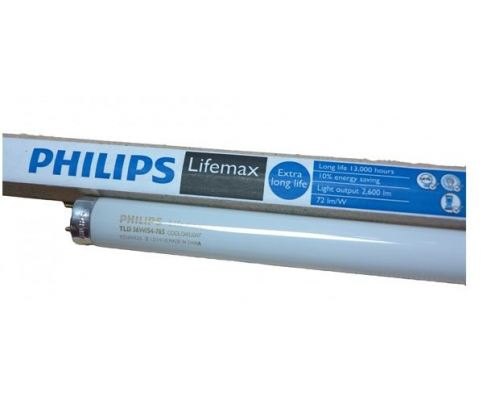 PHILIPS TL-D 36W/865 4FT TLD COOL DAYLIGHT