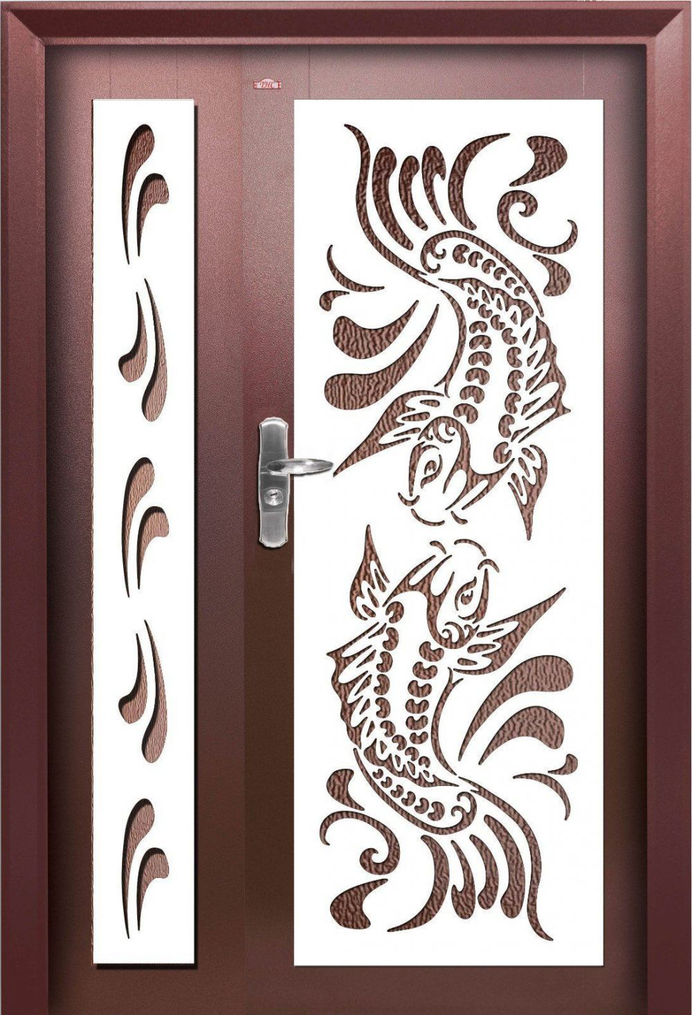 P4-W998 Security Door Choose Sample    | HomeBagus - Home and Deco ONLINE EXPO!