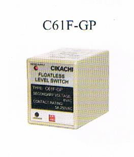 CIKACHI- FLOATLESS RELAY (C61F-GP) CIKACHI Floatless Relay Protection Relay