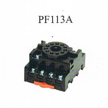 CIKACHI- SOCKET (PF113A) Relay Base  Panel Accessories