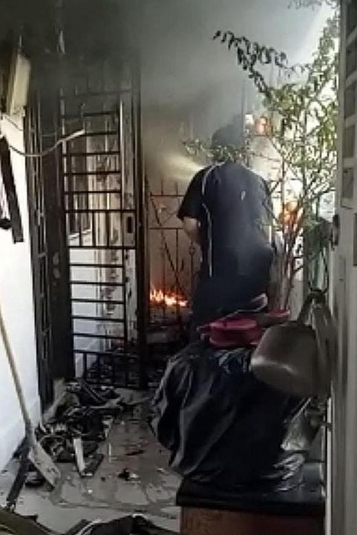 Fire breaks out in Toa Payoh flat