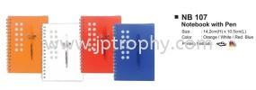 NB 107 Notebook Stationery Souvenir
