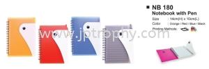 NB 180 Notebook Stationery Souvenir