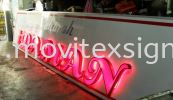 led 3d Signoard front n backlite lighting for day n nite effect n eye catching sign 3D Lettering with LED Light