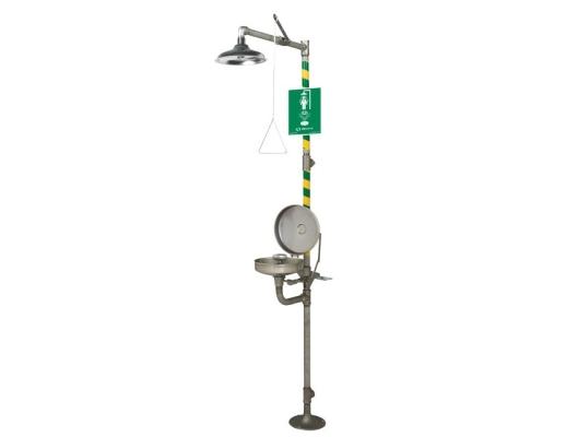 Haws 8330 Axion Emergency Shower / Eyewash