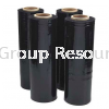 Black Stretch Film Jumbo Roll Black Stretch Film PE Stretch Film