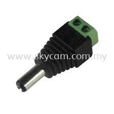 DC Plug-Male (Screw-on type)