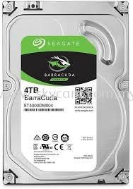 Seagate Hard disk 4TB