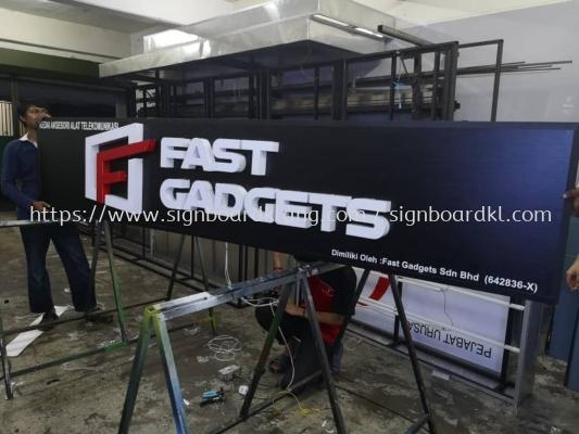 Fast Gadgets 3D Led Channel box up lettering Sigange At kapar klang