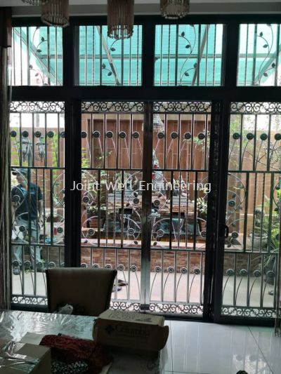 Stainless steel Open Gate