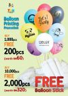 Balloon Printing Promotion