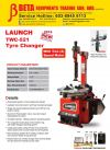 LAUNCH TWC-521 TYRE CHANGER