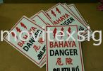 bahaya TNB power plant or danger sign 3mmLGPvc Plate (click for more detail) safety sign Industry Safety Sign and Symbols Image