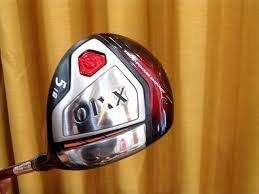 XXIO X RED LIMITED RELEASE FAIRWAY WOOD No 3 and No 5