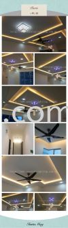 Promotion Cornice + Wiring + Lighting