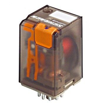 Power Relay 2 C/O 230VAC 16A, Faston 187