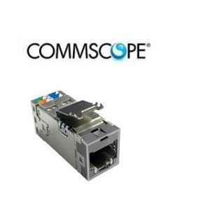 Commscope AMP Cat6A Modular Jack,  Shielded Commscope COPPER CABLE Solutions