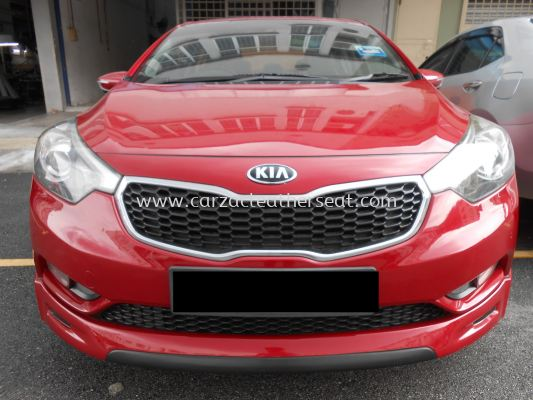 KIA K3 LEATHER SEAT REPLACE