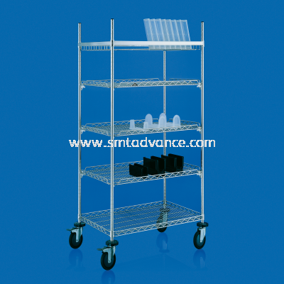 SMT SUS Wire Reverse-fence quick slot Shelving