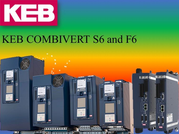 POWERLINK with Drive Controller KEB COMBIVERT S6 and F6