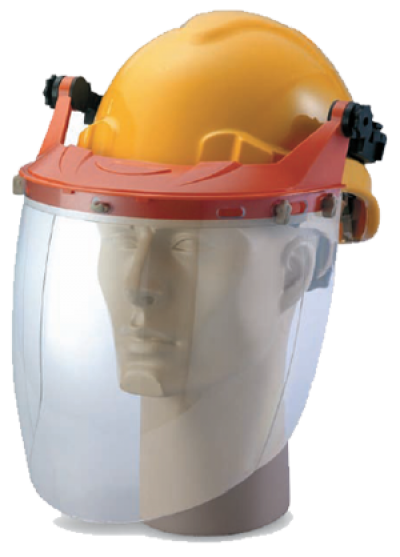 Carrier With Spherical Clear Visor