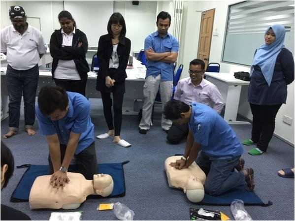 Safety Week- Safety Health Environmental (SHE 1)  Basic Occupational First Aid, CPR & AED Training C