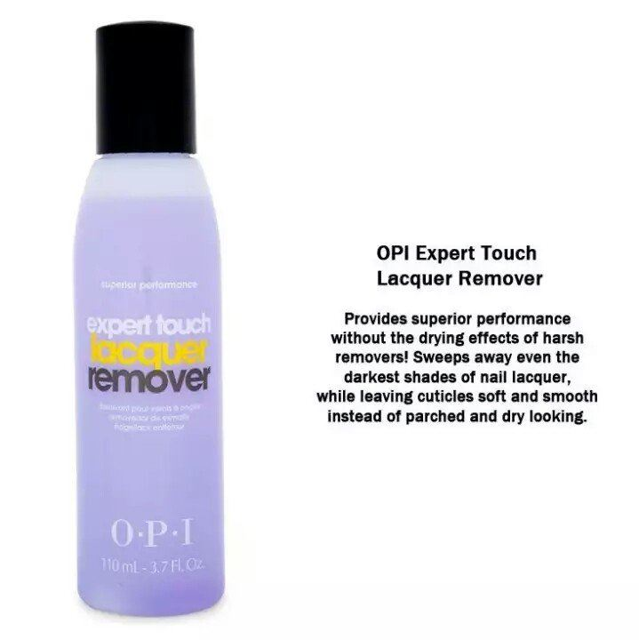 O.P.I expert touch lacquer remover 110ml
