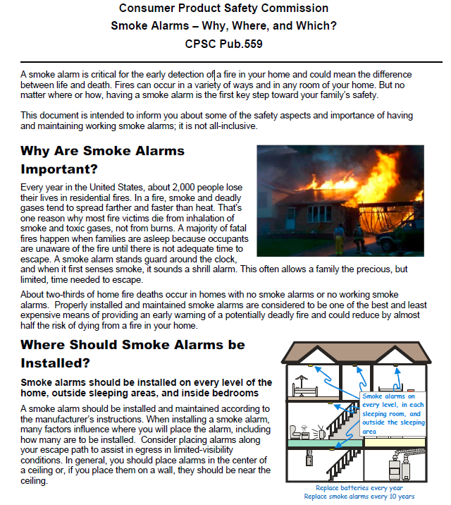 Why Are Smoke Detectors Important?