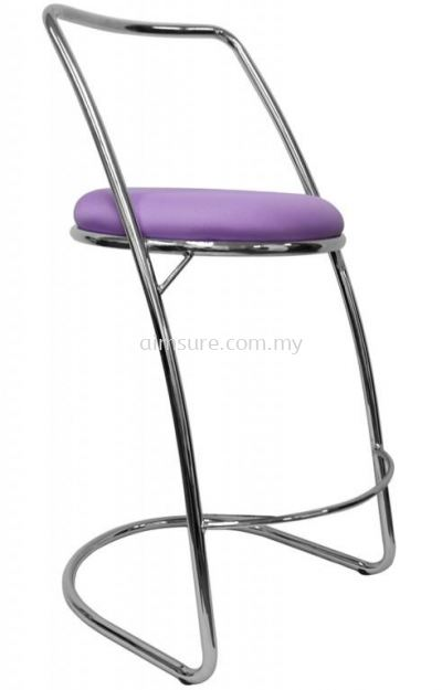 Simple high bar stool AIM817-H