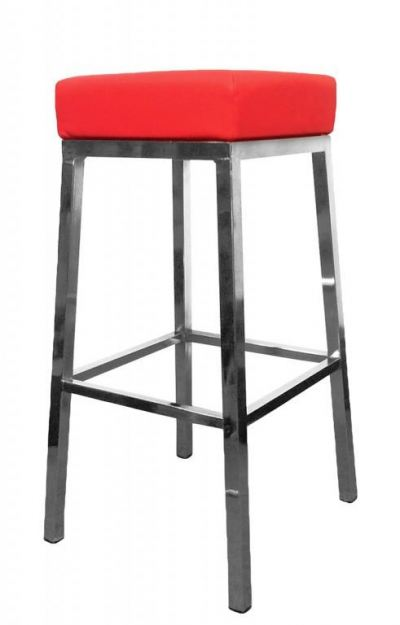 High square bar stool AIM816-H
