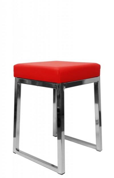 Low square bar stool AIM816-L