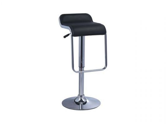 High bar stool with adjustable height AIM824-H