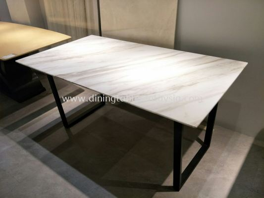 Marble Dining Table - Volakas Marble